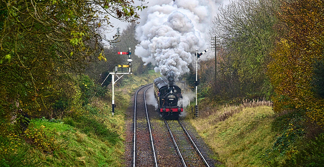 Great Central Railway Loughborough Leicestershire 16th November 2019