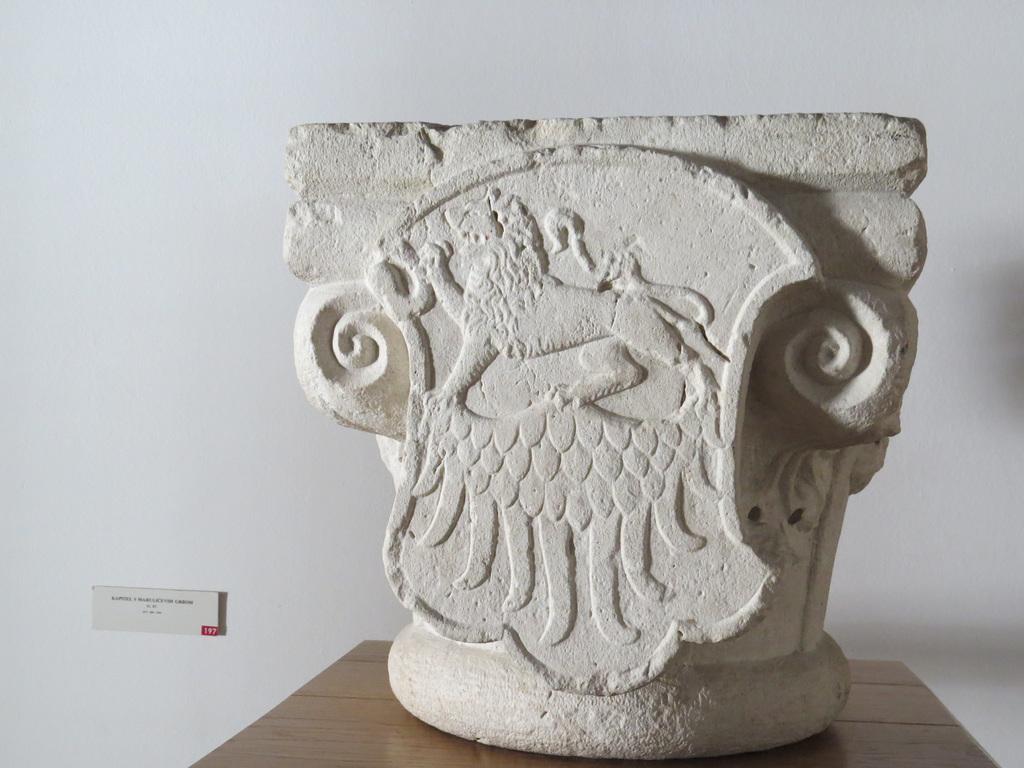 Musée de la ville de Split : chapiteau roman.