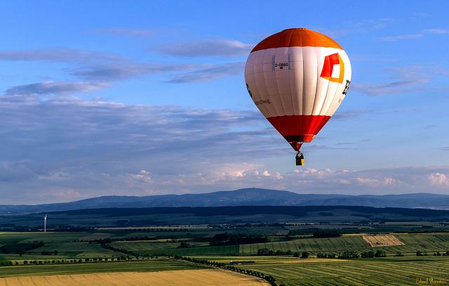 Ballon im Vorharz
