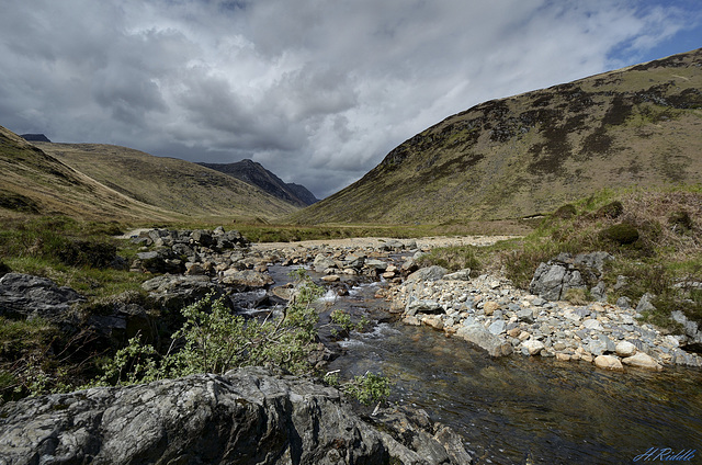 The beautiful Glen Rosa