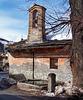 Oulx : la cappella rupestre di S.Marco - (723)