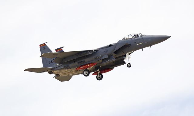 Boeing McDonnell Douglas F-15E Strike Eagle 87-0201