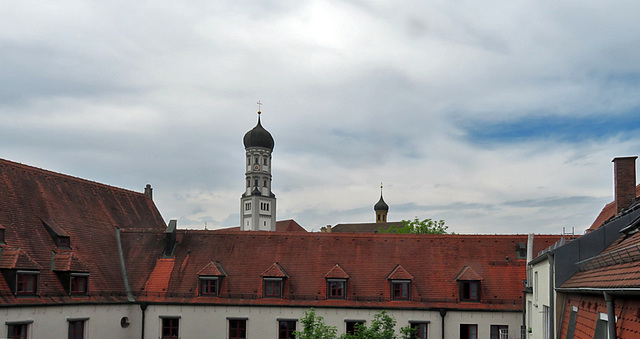 Dachlandschaft Augsburg