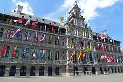 België - Antwerpen, stadhuis