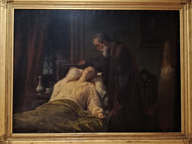 """""""TINTORETTO PORTRAYING HIS DEAD DAUGHTER"""", 1867"""