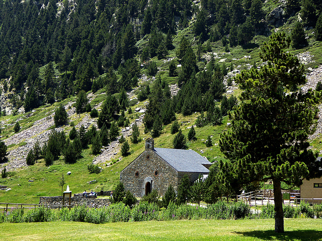 la ermita dedicada a Sant Gil