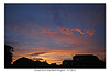 Sunset seen from East Blatchington - 9.7.2016