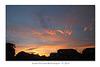 Sunset East seen from East Blatchington - 9.7.2016