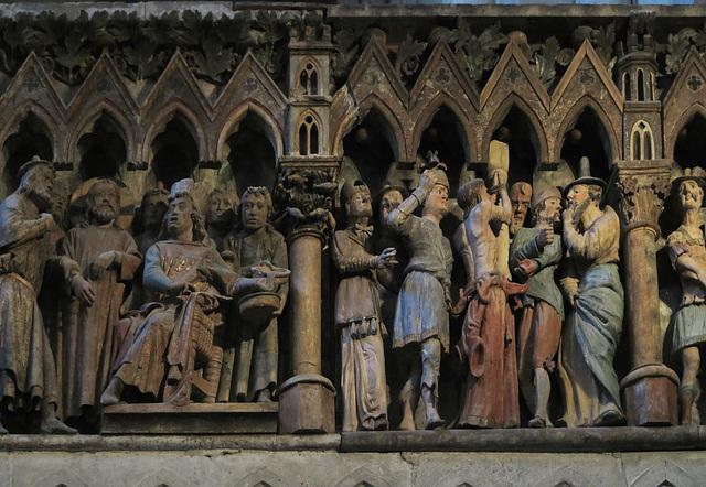 Fresken am Westlettner