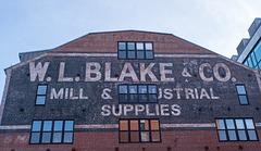 Blake ghost sign Portland Maine