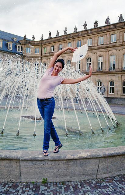 Fun at the Fountain