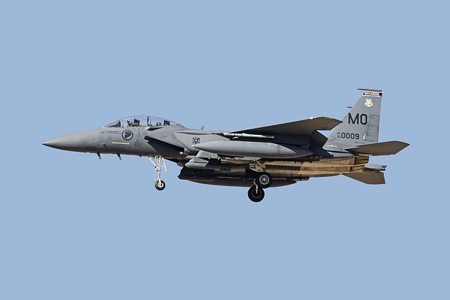Republic of Singapore Air Force Boeing McDonnell Douglas F-15SG Strike Eagle 05-0009