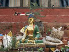 Sommeil et sagesse (Kathmandu, Népal)