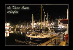 Le Vieux Bassin - Honfleur by night - 24.10.2010