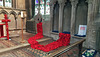 Part of the Poppy display at St Andrew's church Heckingtom ~ Lincolnshire