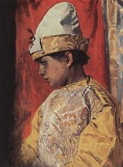 Bouffon en costume, par Victor Vasnetsov