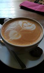 Milchkaffee (mittelstark)