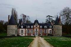Château de Rocheplatte, Aulnay-la-Rivière, Loiret, France - 1726