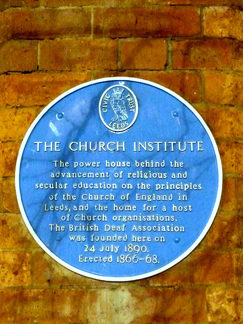 Leeds Church Institute - 24 March 2016