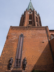Turm der Kirche St. Petri in Buxtehude
