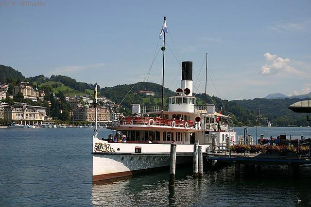 Ipernity Dampfschiff Schiller Luzern 17 08 2009 01819 By