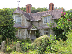 west lodge, membland estate building, devon