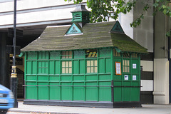 cabbies shelter, embankment, london
