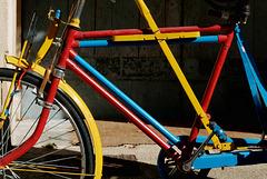 Le vélo de toutes les couleurs