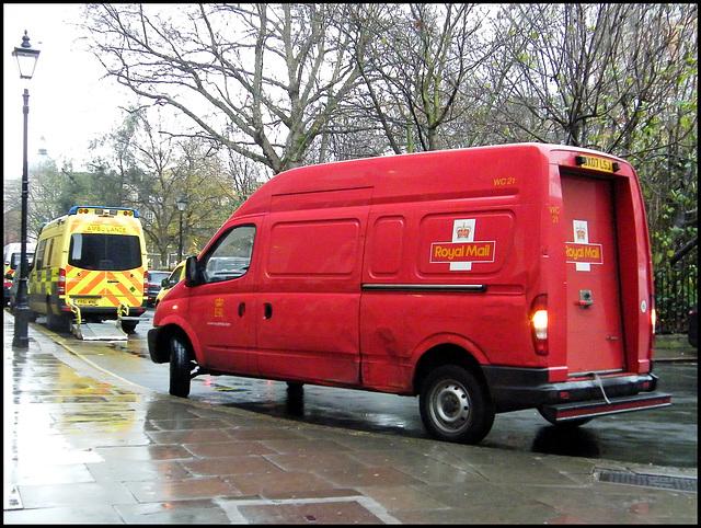 Royal Mail parcel van