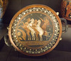 Red-Figure Plate with Helios in a Quadriga in the Louvre, June 2013