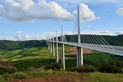 Viaduc de Millau - Frankreich