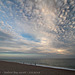 Sky to the east - Seaford Bay - sunset - 8.8.2018
