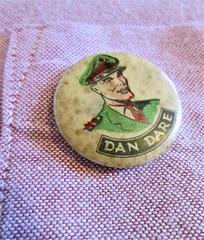 Cherished - my Dan Dare badge...