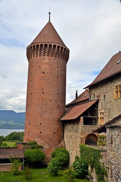 Burg und Schloss Chanaux in Estavayer-le-Lac