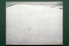 """""""Paysage de neige"""" (ou """"Le grand hiver"""") (Cuno Amiet - 1904)"""