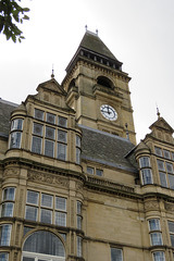 town hall, wakefield, yorks