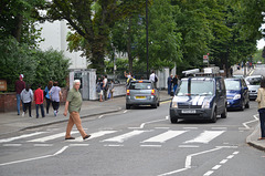 London, The Beatles's Abbey Road Album Cover