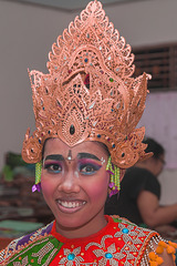 Gek Adii is ready for her dance performance