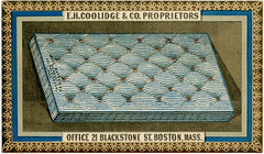 Wool Mattress, E. H. Coolidge and Company, Boston, Mass.