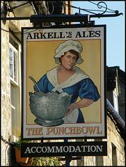 Punchbowl pub sign