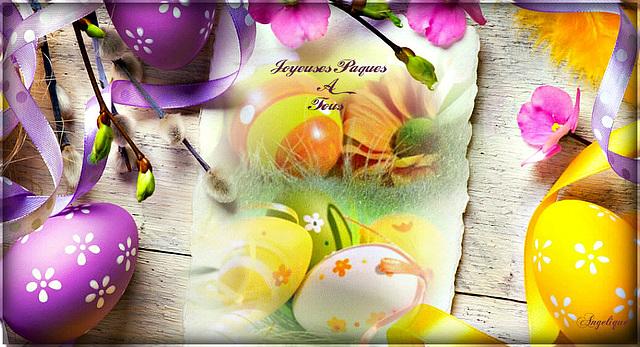 Joyeuses Pâques A Tous !