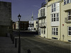 Looking along Old Portsmouth's Battery Row
