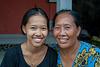 Gek Adii and her mother Ibu Agung Raka