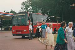 London Buses Selkent Travel G608 SGU at Barton Mills - 13 Jul 1991
