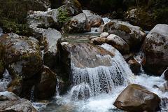 A Small Waterfall at a Himalayan Creek
