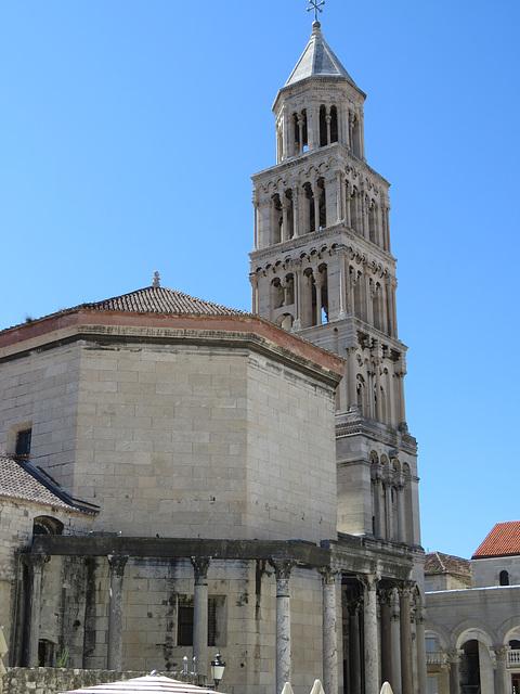 Split, la cathédrale.
