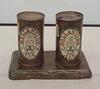 Painted Bronze Ale Cans by Jasper Johns Philadelphia Museum Aug 2009
