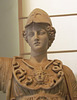 Detail of a Statue of Athena in the Naples Archaeological Museum, July 2012