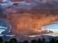 The Huachuca Mountains