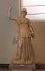 Statue of Athena in the Naples Archaeological Museum, July 2012